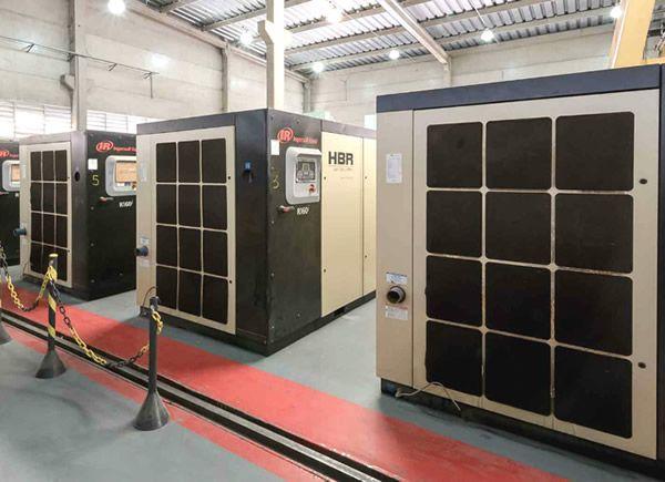 HBR oferece uma economia de 30% na geração de ar comprimido com seus equipamentos Air Delivery®