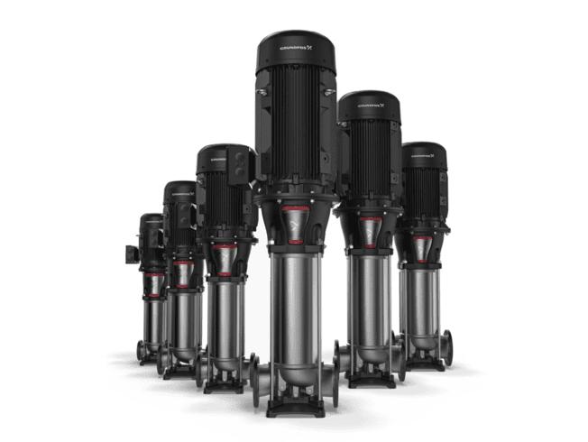Bombas centrífugas e de fusos verticais multiestágio para centros de usinagens e máquinas/ferramentas em geral