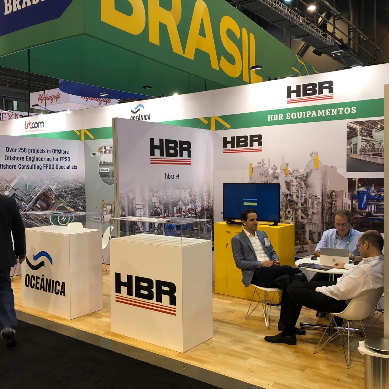 HBR participa mais uma vez da OTC – Offshore Technology Conference