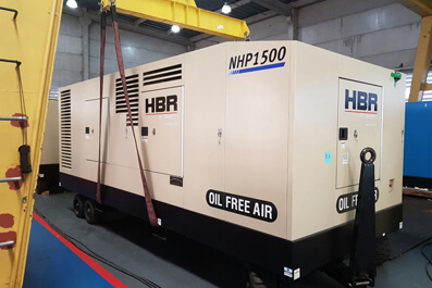 Compressor de ar diesel isento de óleo