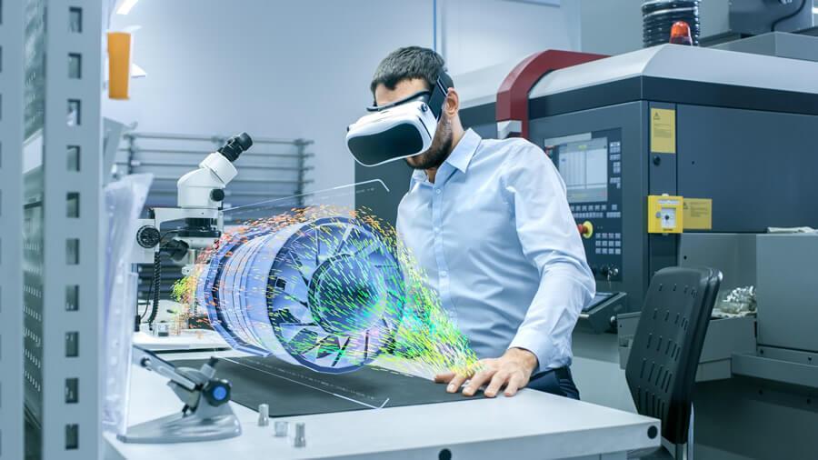 A Era da Experiência, tecnologia 3D em projetos de engenharia